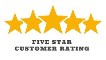 5 star customer review