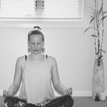 Sally Meditating
