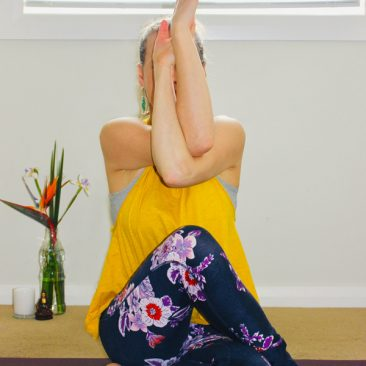 Waiheke Yoga Pose